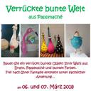 Bauen Sie ein verrückt buntes Objekt Ihrer Wahl am 06. und 07. März 2018 in Weißwasser
