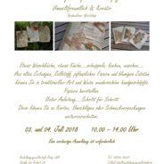 Workshop Papier schöpfen am 03. & 04. Juli 2018 in Weißwasser
