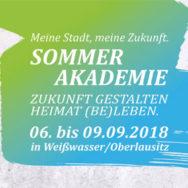 Sommerakademie vom 06. bis 09 September 2018 in Weißwasser